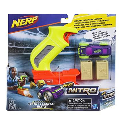NERF Nitro ThrottleShot Blitz, Light Green
