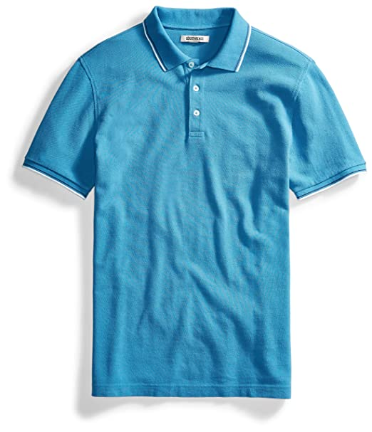 727196a380468 Amazon.com: Amazon Brand - Amazon Brand - Goodthreads Mens Short-Sleeve  Washed Pique Polo Shirt: Clothing