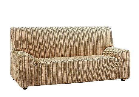 Martina Home Mejico - Funda de sofá elástica, Doré, 1 Plaza, 70 a 110 cm de ancho