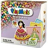 PlayMais 160178 Mosaic Dream Princess - Juego de piezas para crear mosaicos con dibujos de princesas (6 dibujos diferentes)