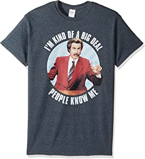 5ca0226d Anchorman Will Ferrell Funny Movie Quote T Shirt   Amazon.com