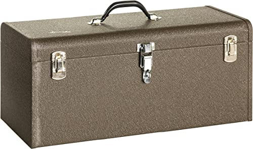 Kennedy Manufacturing K24B 24 All-Purpose Tool Box, 24 , Brown Wrinkle