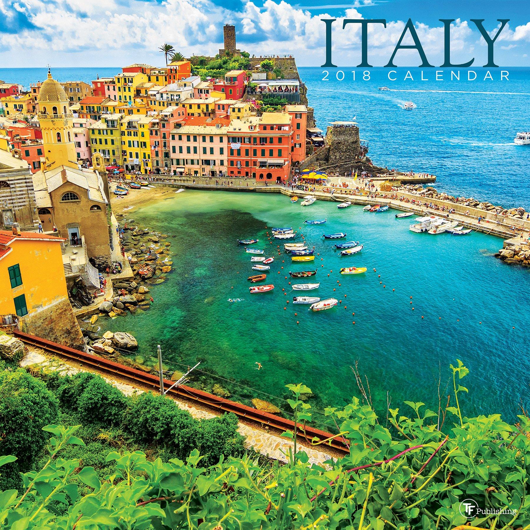 2018 Italy  Wall Calendar