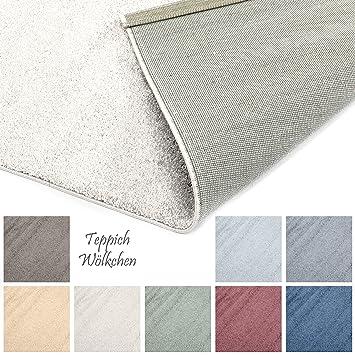 Designer Teppich Pastell Kollektion Flauschige Flachflor Teppiche Furs Wohnzimmer Esszimmer Schlafzimmer Oder Kinderzimmer Einfarbig