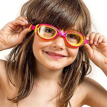 8e7417dbedf Kids Swimming Goggles ~ Swim Goggles for Children Boys Girls Age 2 3 4 5 6
