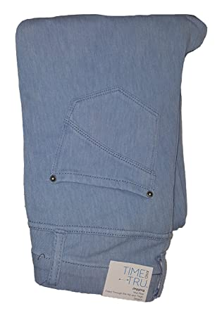 b419943ff7c6c Time and True Light Denim Jegging at Amazon Women's Clothing store: