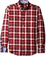 Nautica Men's Classic Fit Wrinkle Resistant Autumn Plaid Shirt