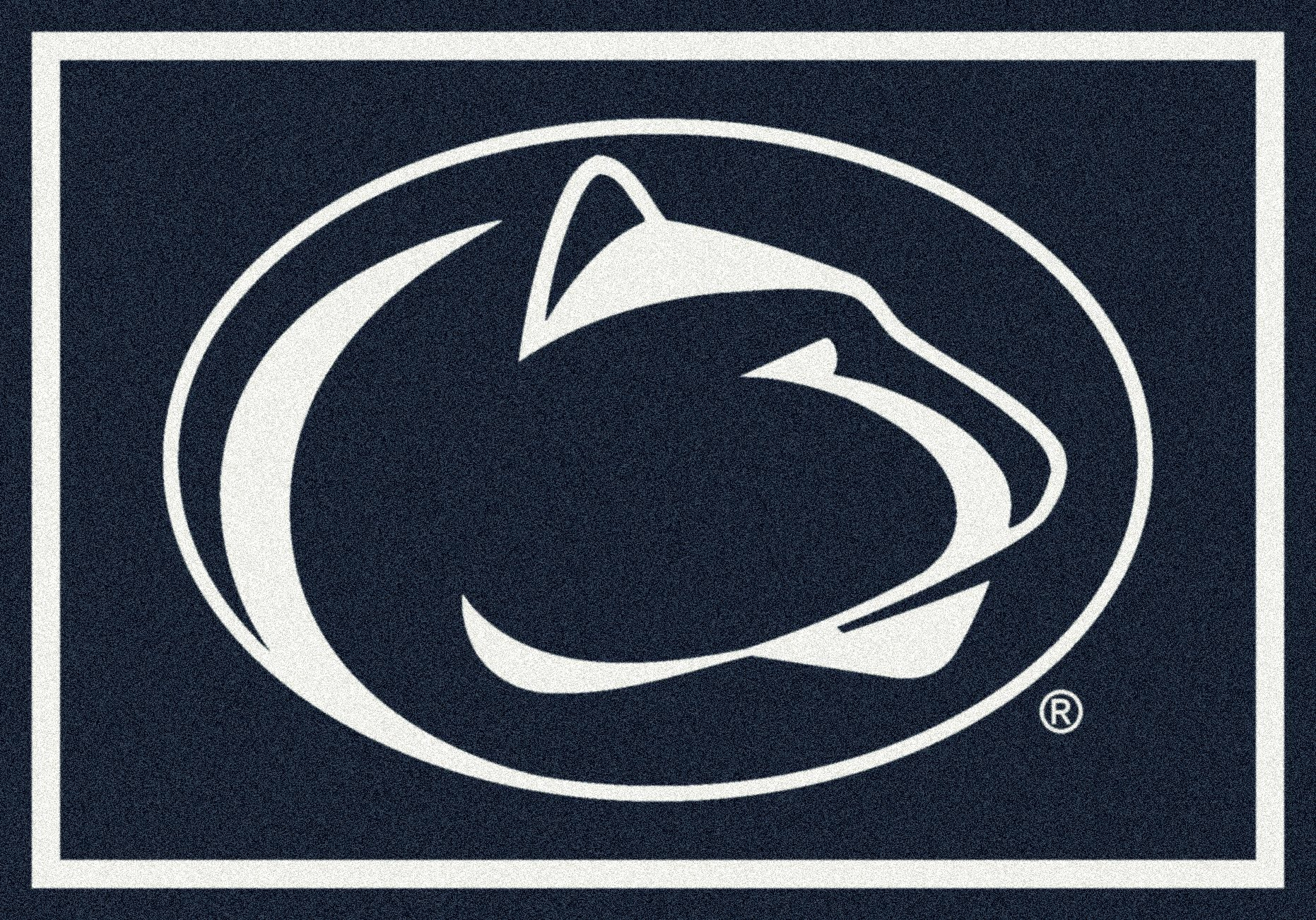 Penn State Nittany Lions NCAA College Team Spirit Team Area Rug 5'4''x7'8''
