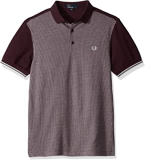 96aff747 Amazon.com: Fred Perry Men's Two-Color Knitted Shirt: Clothing
