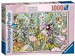 Ravensburger Rompecabezas de 1000 Piezas: Hadas con Flores Puzzle