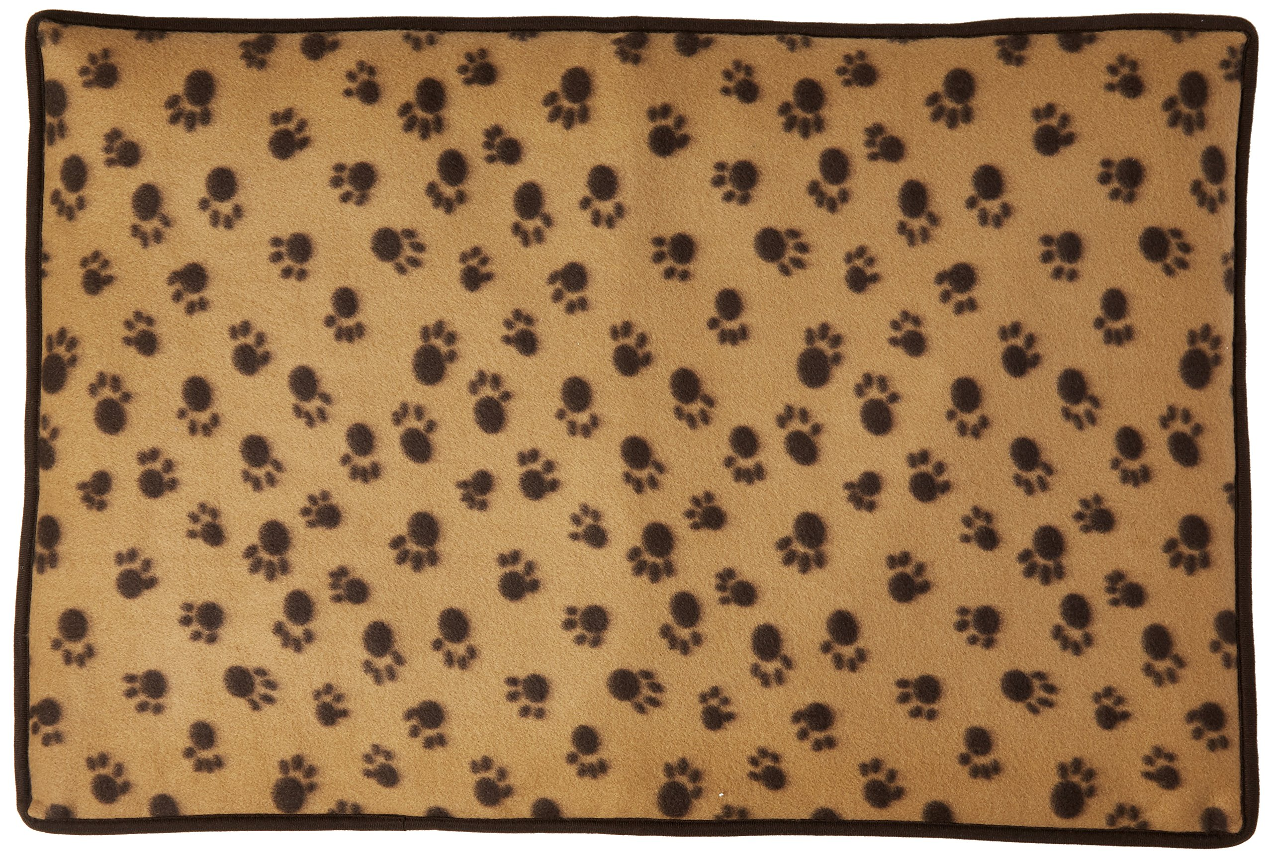 PU Health Soft Dog Paw Print Fleece Blanket