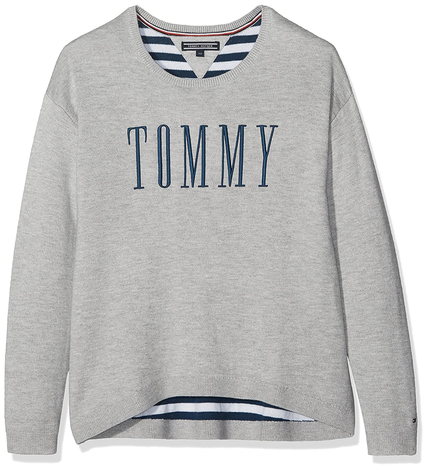 Tommy Hilfiger AME Graphic Sweater, Felpa Bambina KG0KG02941