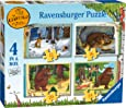 Ravensburger The Gruffalo 4 in Box (12, 16, 20, 24pc) Jigsaw Puzzles
