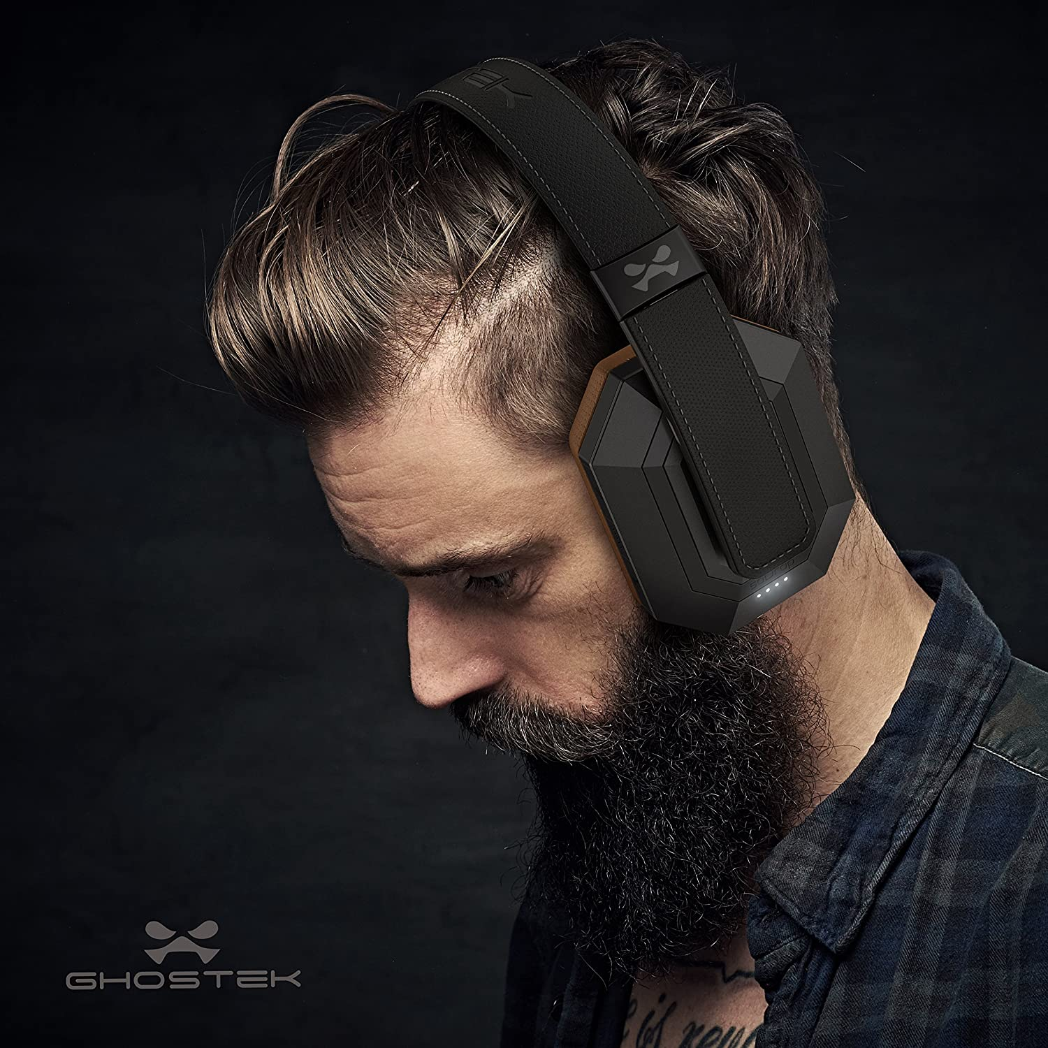 ghostek cuffie  Ghostek Sodrop PRO Wireless Cuffie Active Noise canceling Bluetooth ...