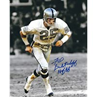 Autographed Fred Biletnikoff 8X10 Oakland Raiders Photo photo