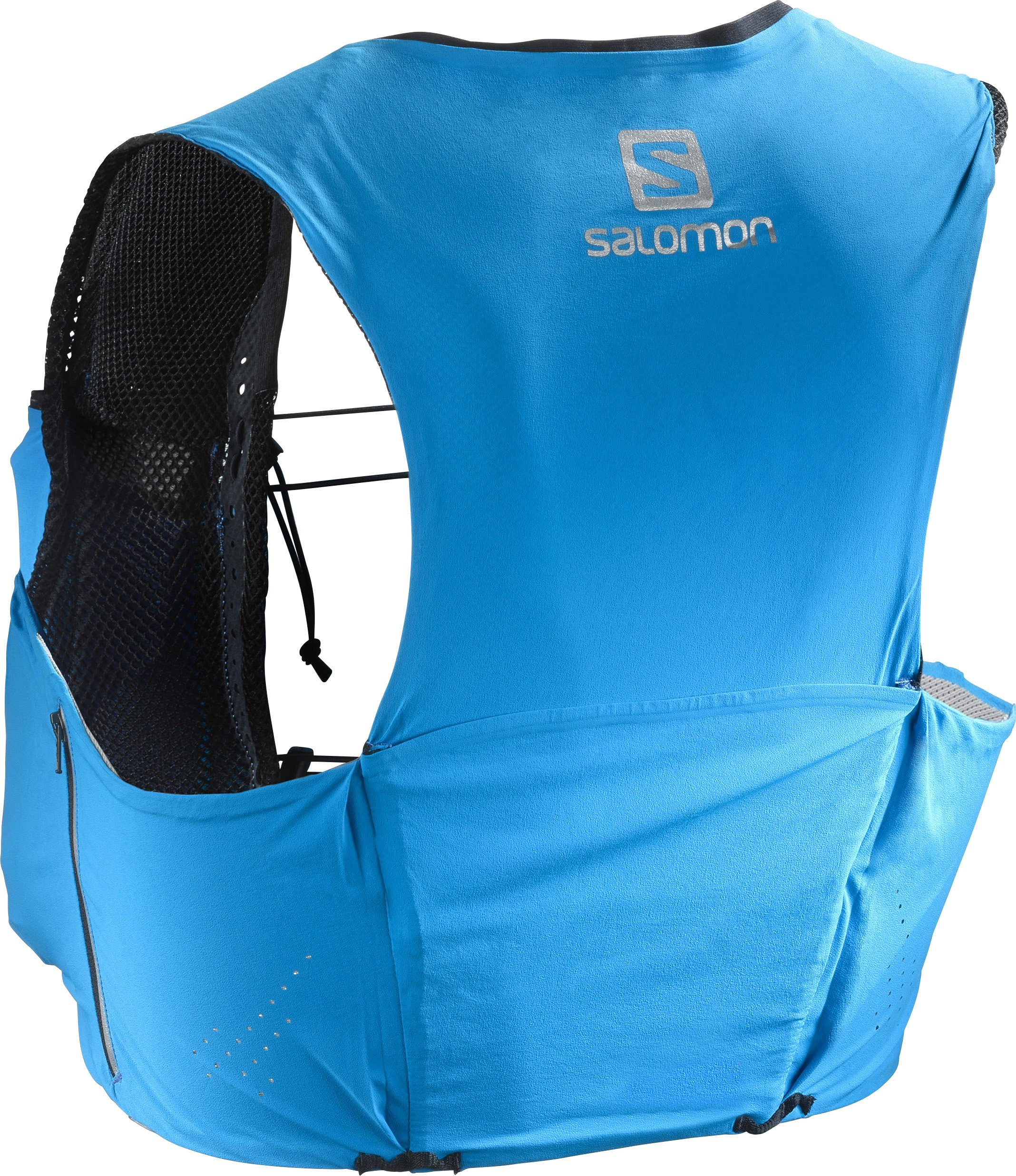 Salomon Unisex S-Lab Sense Ultra 5 Set Backpack, Transcend Blue, Black, S