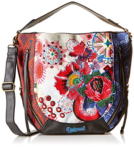 23a1da2245 Desigual Womens Marteta Bombai Cross-Body Bag Fresa  Amazon.co.uk ...