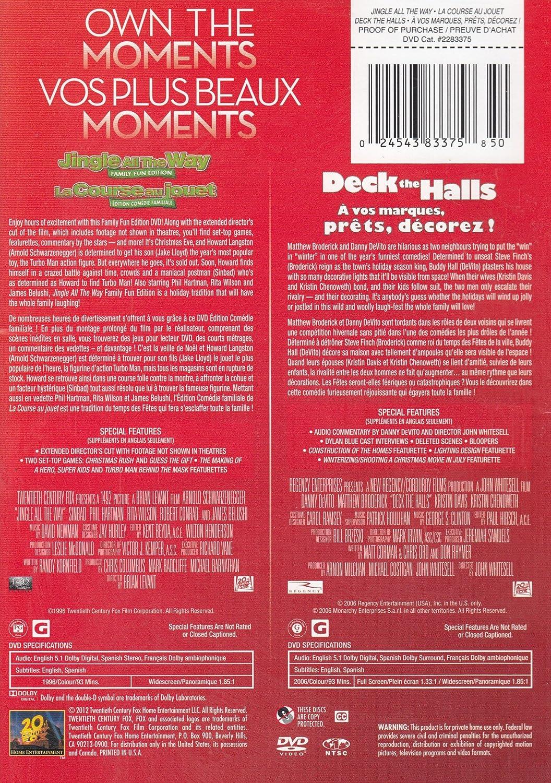 Amazon.com: Jingle All The Way / Deck The Halls [Own The Moments]: Arnold Schwarzenegger, Phil Hartman, Danny DeVito, Matthew Broderick, Kristin Davis, ...