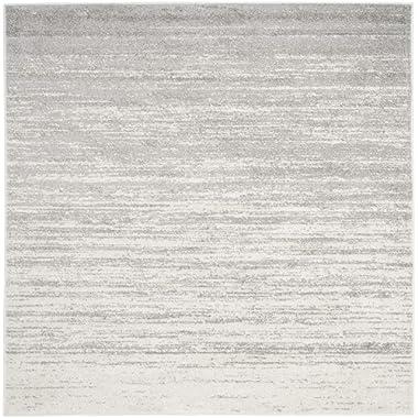 Safavieh ADR113B-9SQ Rug, 9' Square, Ivory/Silver