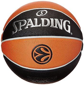 Spalding Basketball Euroleague Tf1000 Legacy 74-538z - Pelota de Baloncesto (Cuero, Oficial)