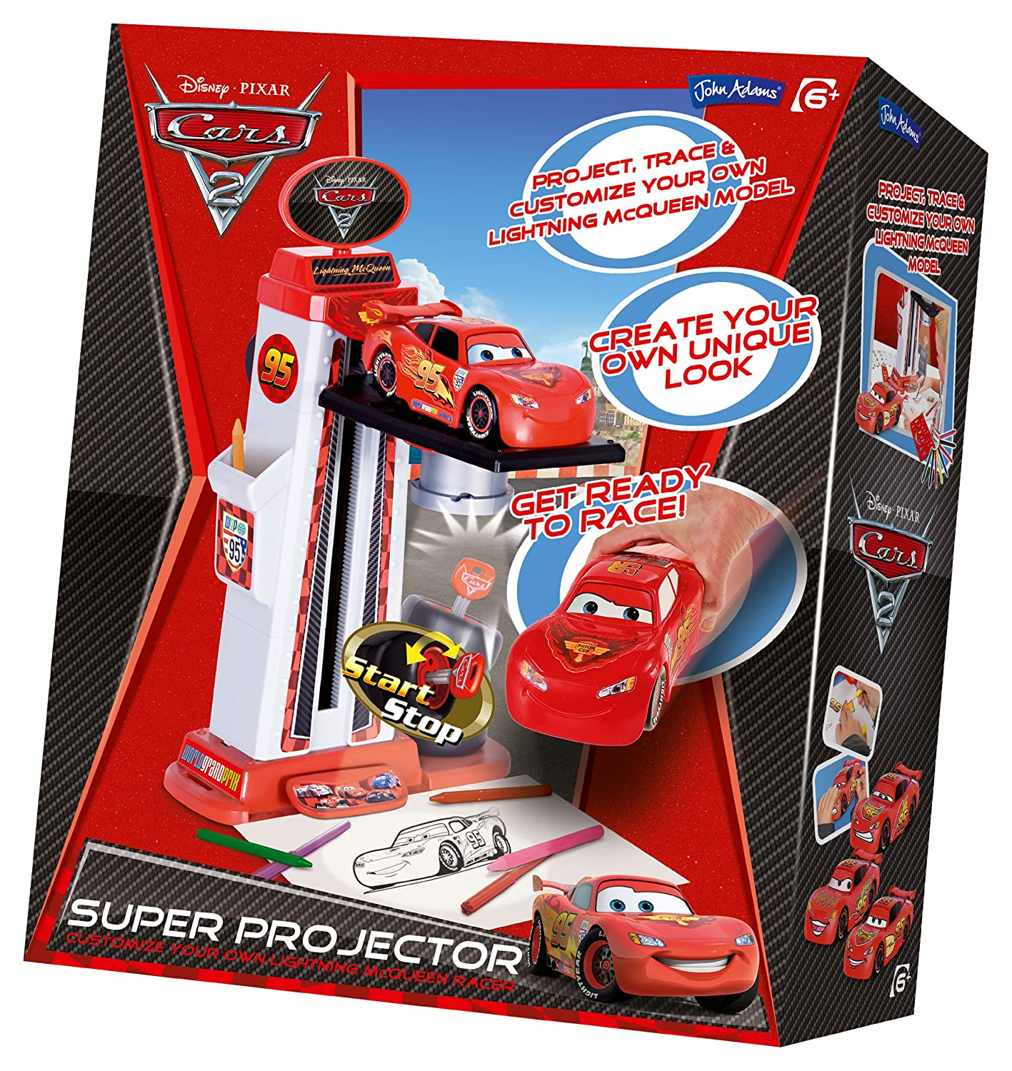 Toy Brokers John Adams 9451 Disney Cars 2 - Proyector en 3D ...