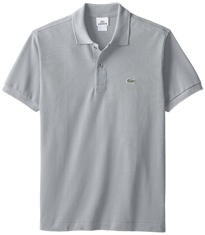 Lacoste ラコステMen's L-1212,半袖 鹿の子 ポロシャツ(並行輸入品) B015XQJABA XS|platinum grey platinum grey XS