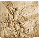 Design Toscano St. Michael the Archangel Sculptural Wall Frieze in Stone