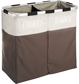 Whitmor Easycare Double Hamper