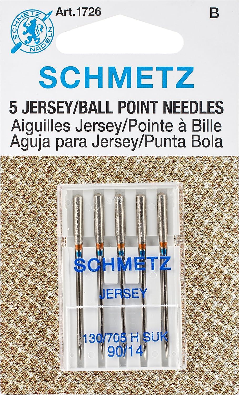 25 Schmetz Jersey de punto Agujas para máquina de coser 130/705 H ...