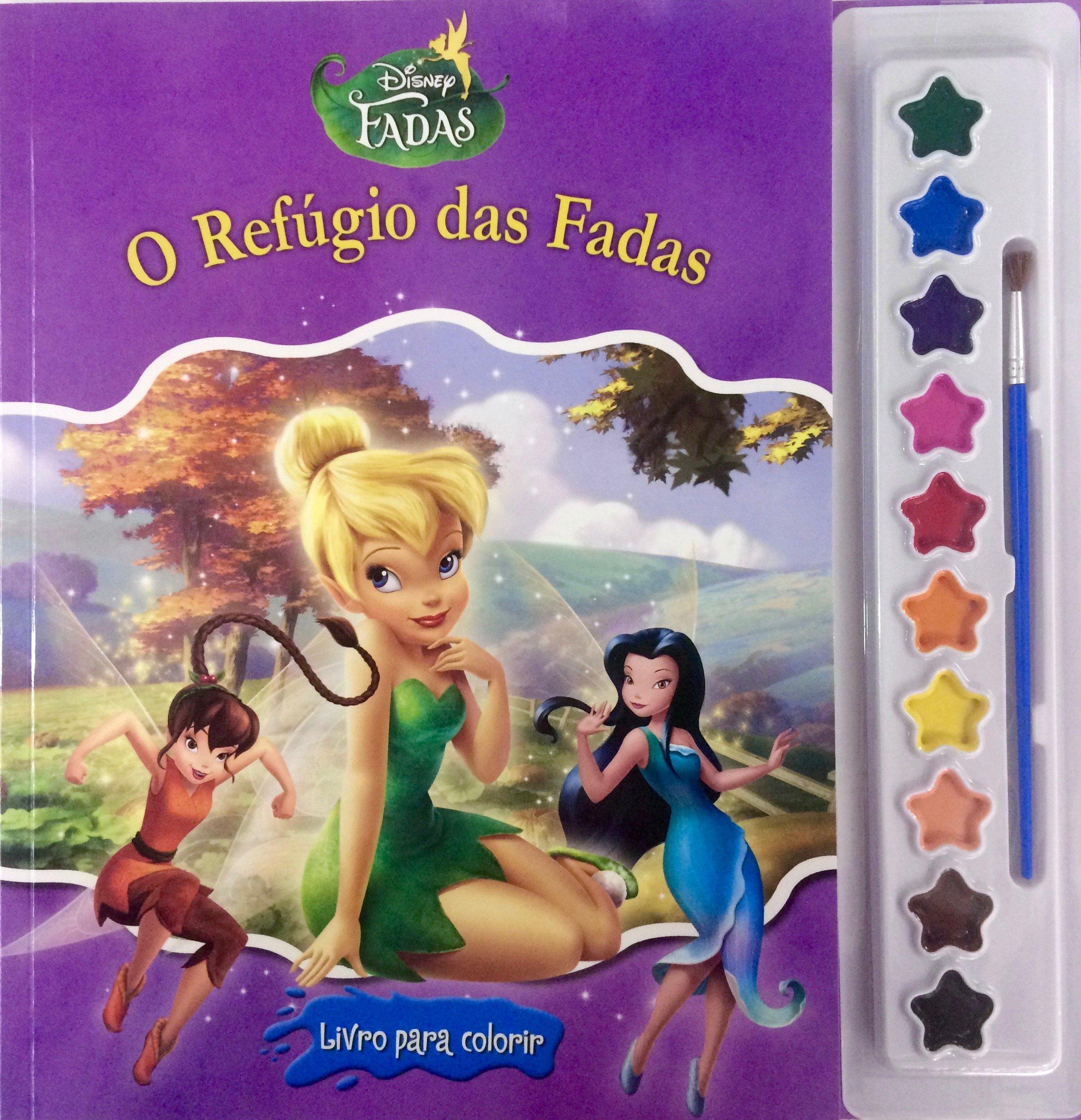 Tinker Bell O Refugio Das Fadas Colecao Disney Aquarela Em
