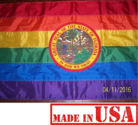Florida Flag nylon material Made in the USA