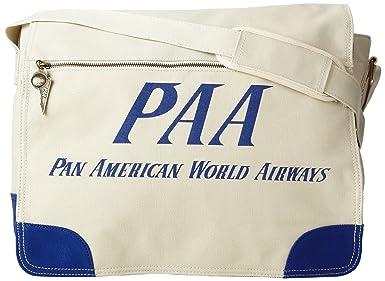 Amazon.com: Pan Am de los hombres paa Messenger, L, Canvas ...