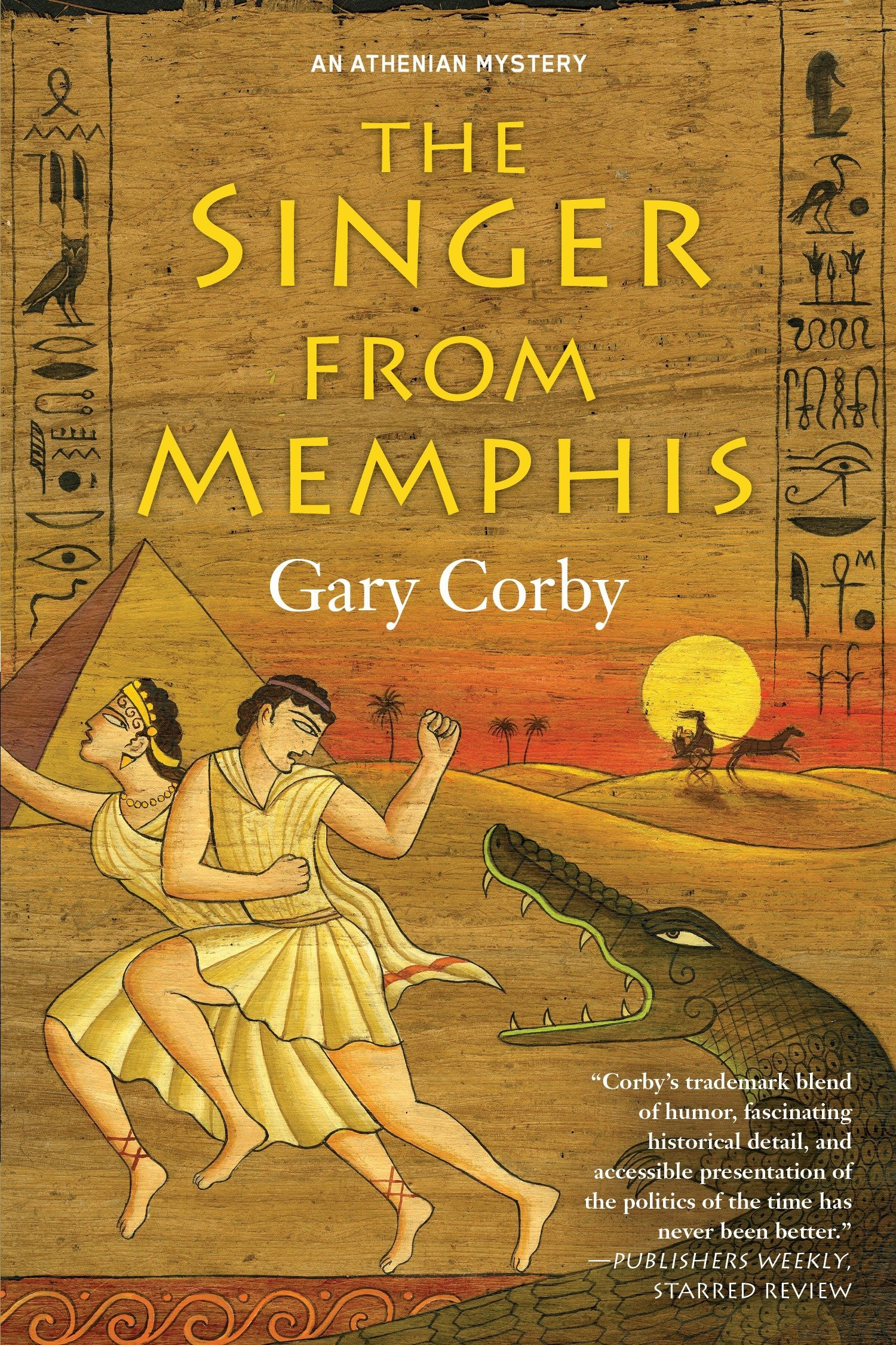 The Singer from Memphis (An Athenian Mystery): Gary Corby ...