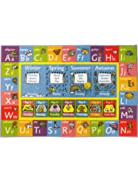 KC CUBS Playtime Collection ABC Alphabet, Seasons, Months And Days Of The  Week Educational