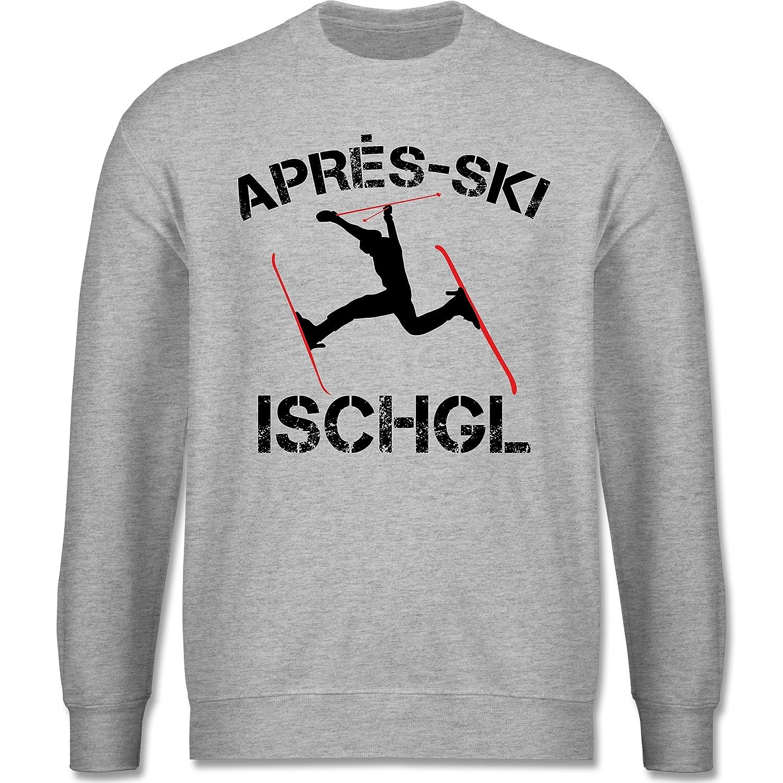Après Ski - Apres Ski Ischgl - schlichter Herren Pullover