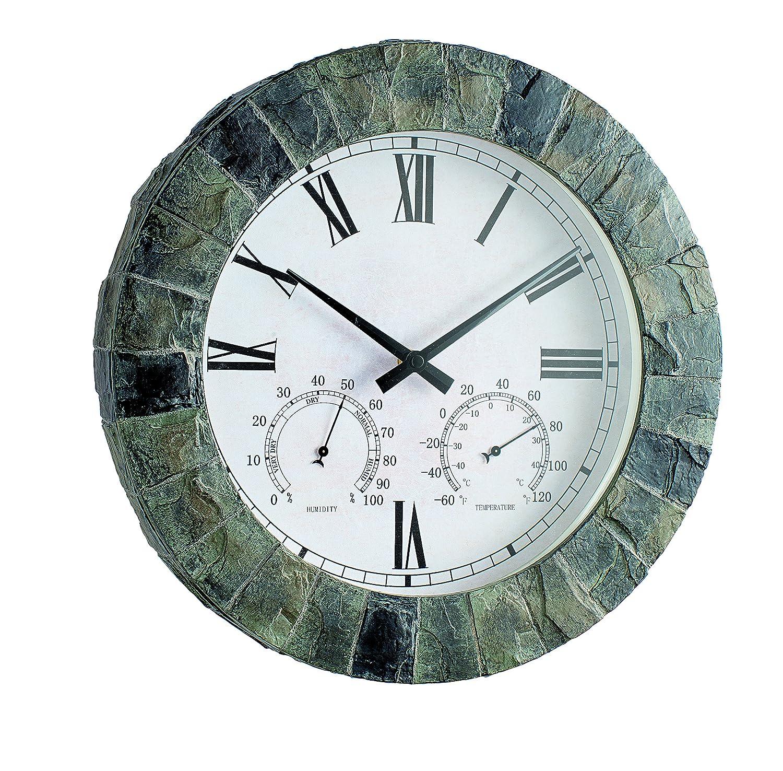 Gardman Garden Clock Salisbury, Thermometer, Hygrometer: Amazon.co.uk:  Garden U0026 Outdoors