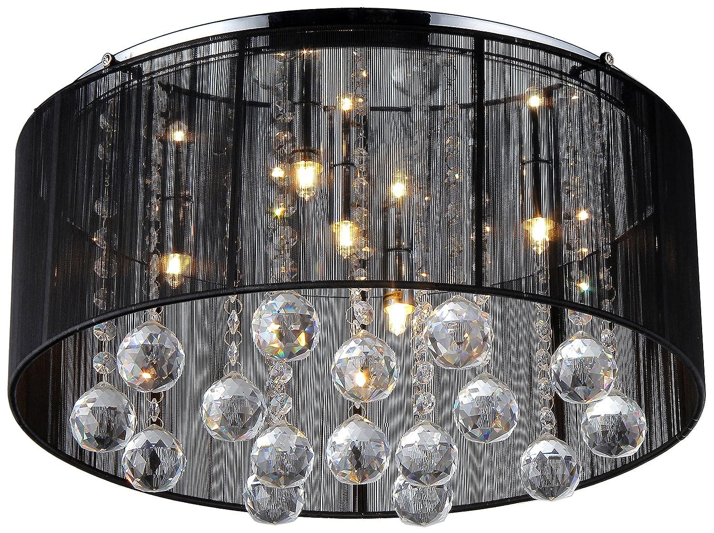 Jasmine crystal chandelier black chandelier amazon arubaitofo Choice Image