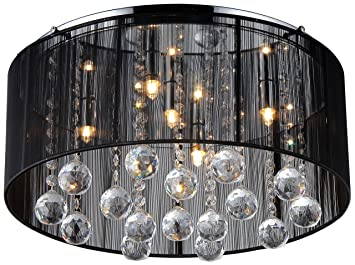 Jasmine crystal chandelier black chandelier amazon aloadofball Images