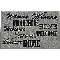 Deals on Ottomanson Rectangular Hello Doormat, Sweet Home 20x30-inch