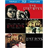 Lost Boys Triple Feature (The Lost Boys / Lost Boys: The Tribe / Lost Boys: The Thirst) [Blu-ray]