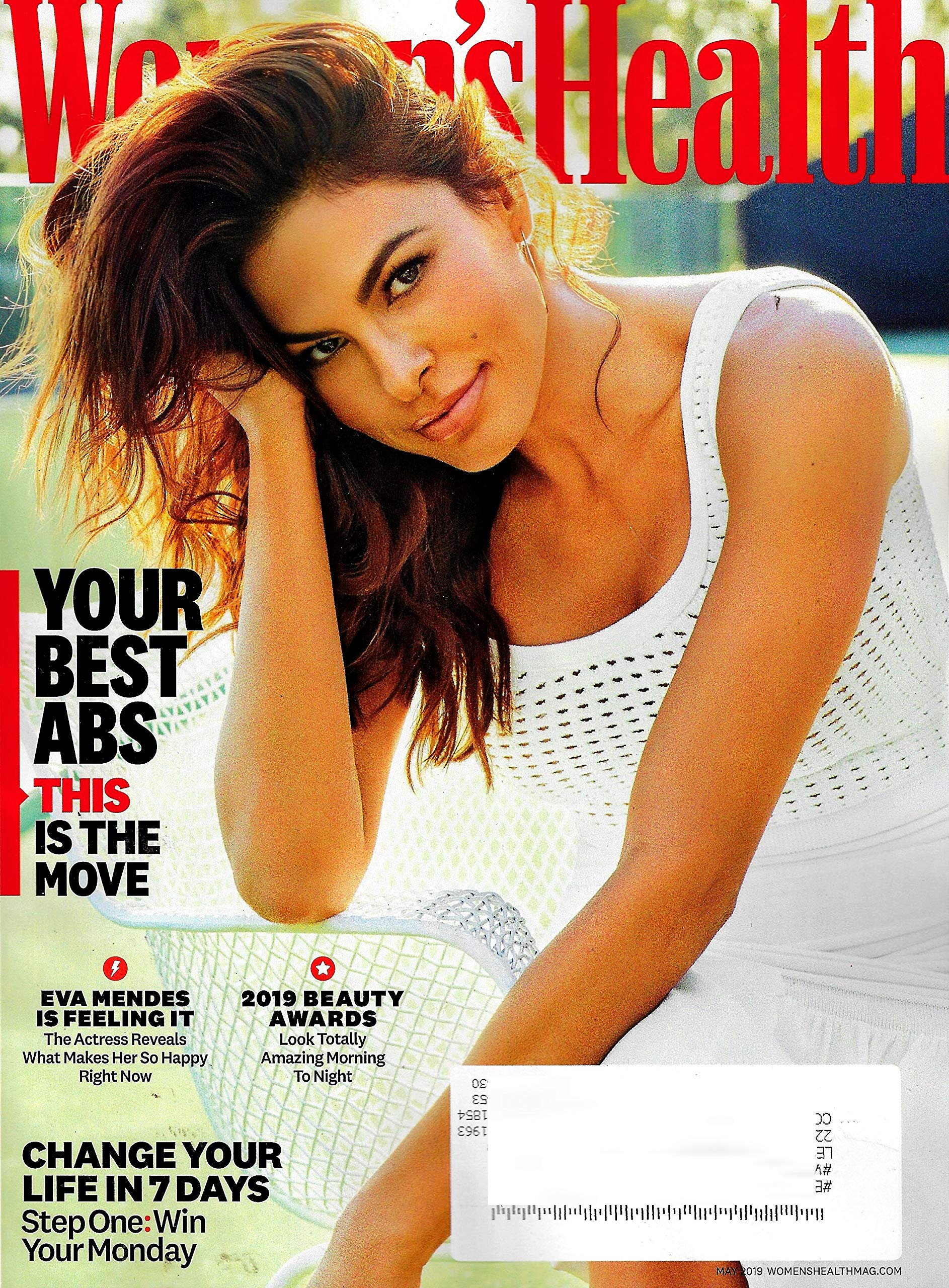 Womens Health Magazine May 2019 Eva Mendes Cover Your Best Abs