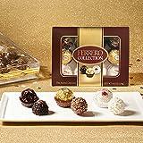 Ferrero Rocher Fine Hazelnut Milk Chocolates, 12