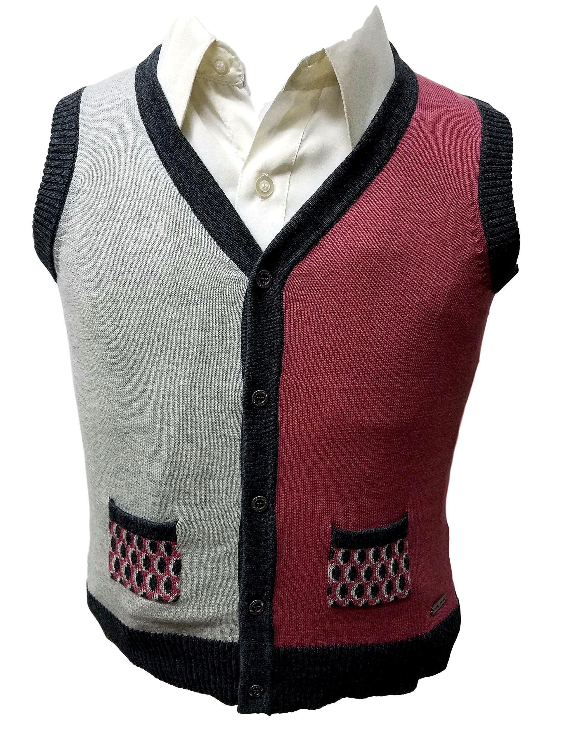 Vest Sweater 100% Cotton 2389 (12)