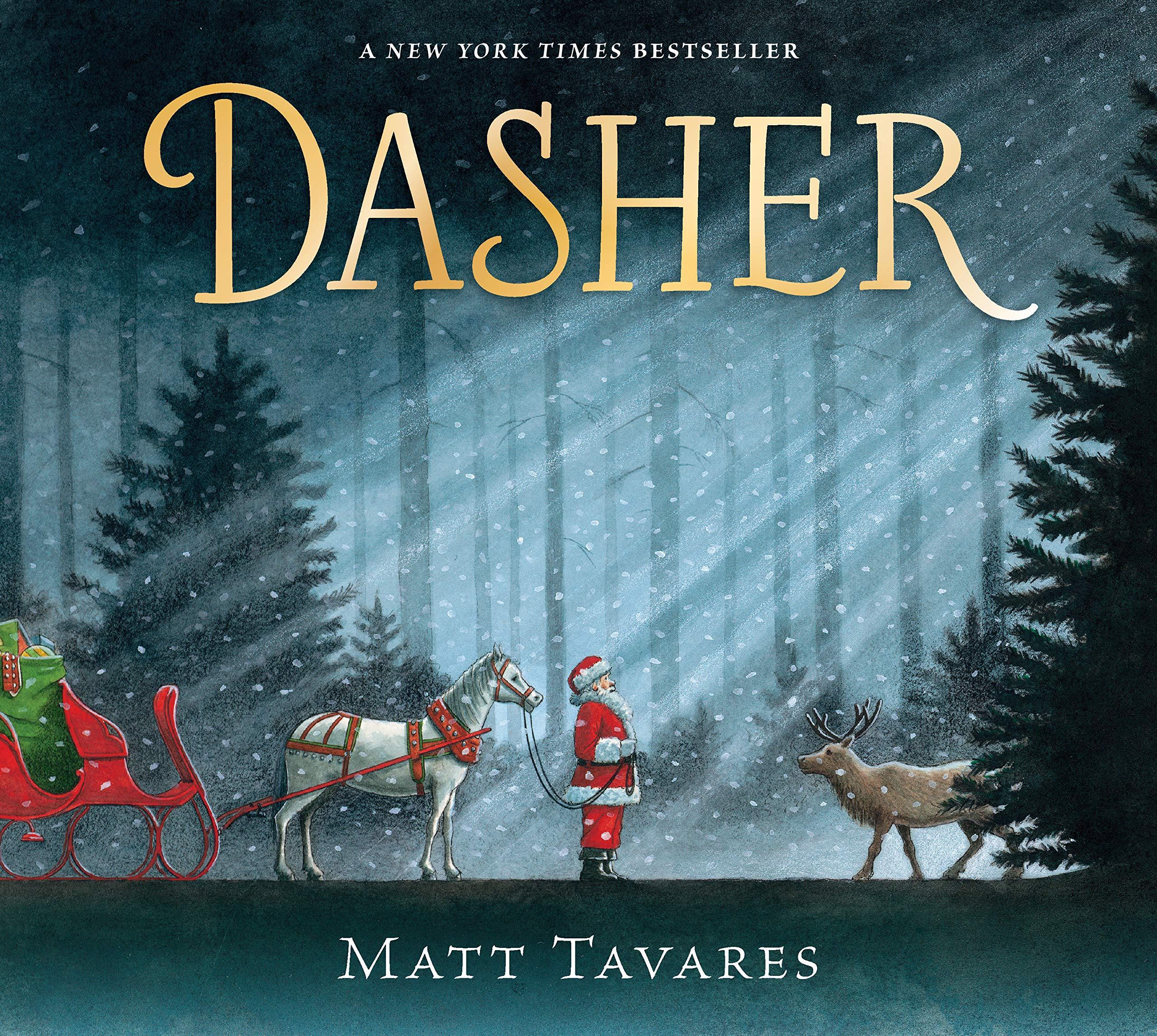 Dasher: How a Brave Little Doe Changed Christmas Forever: Tavares, Matt,  Tavares, Matt: 9781536201376: Amazon.com: Books