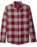 Metal Mulisha Men's Plus Size Explicit Plaid Flannel Shirt