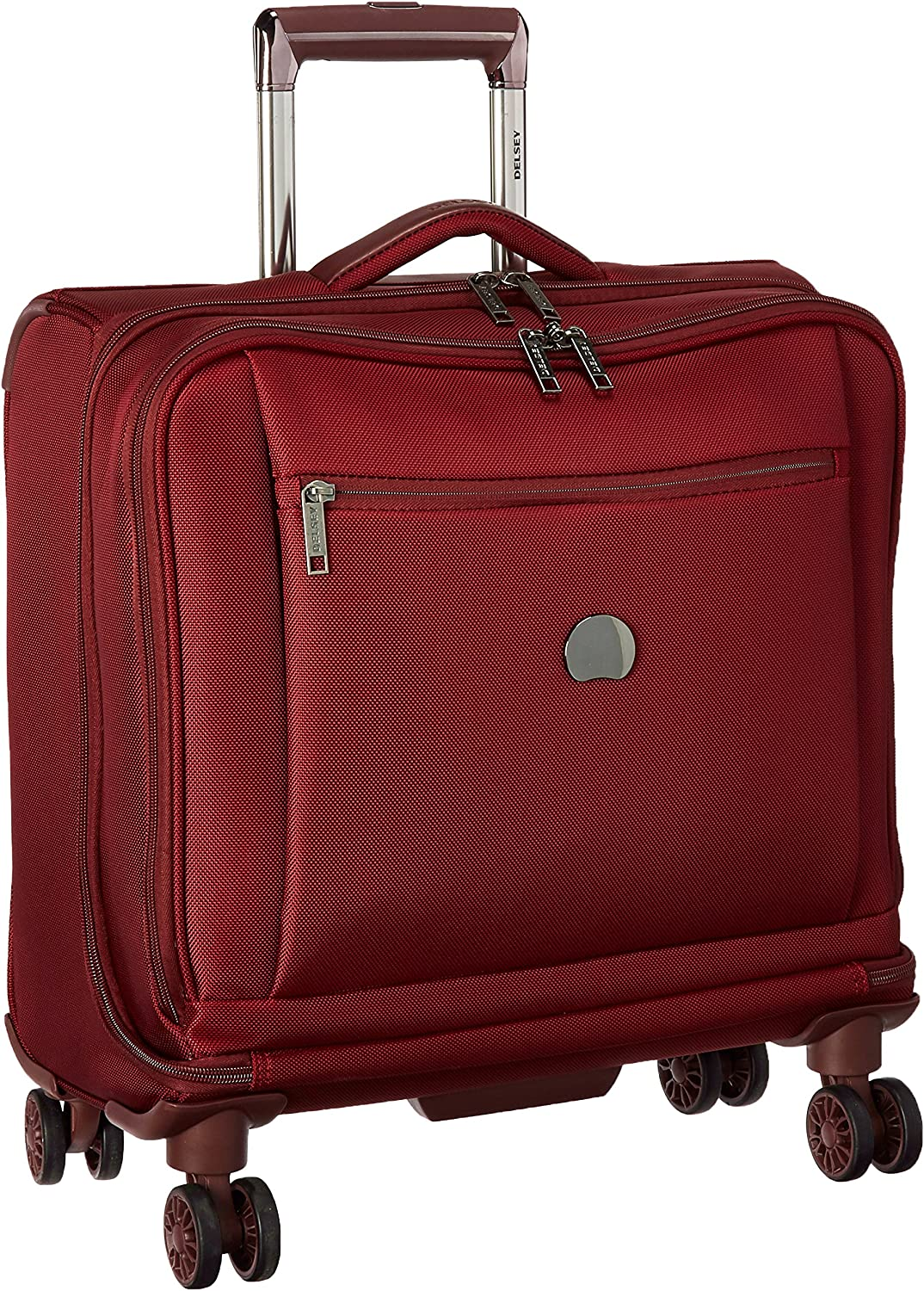 Delsey Luggage Montmartre Bordeaux Spinner Business Travel Tote