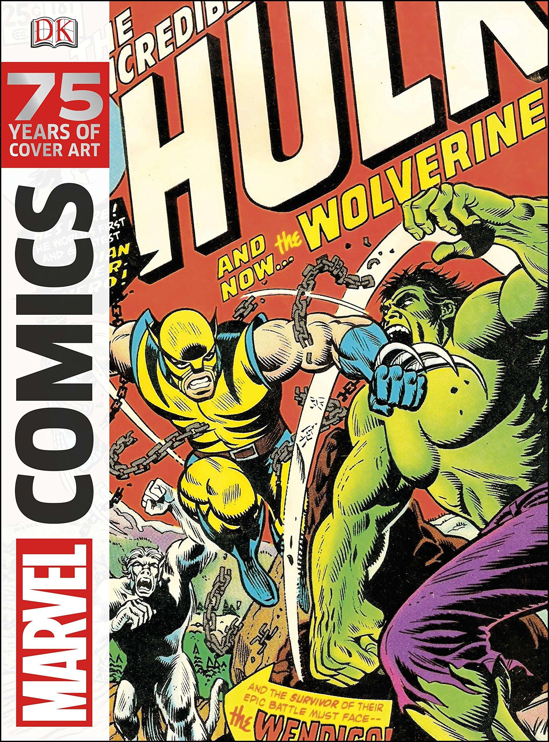5a393fd3f8f Amazon.com: Marvel Comics: 75 Years of Cover Art (9781465420404): DK ...