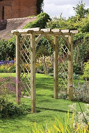 Un Jardin En Bois Robuste Et élégant Verger Pergola Arche