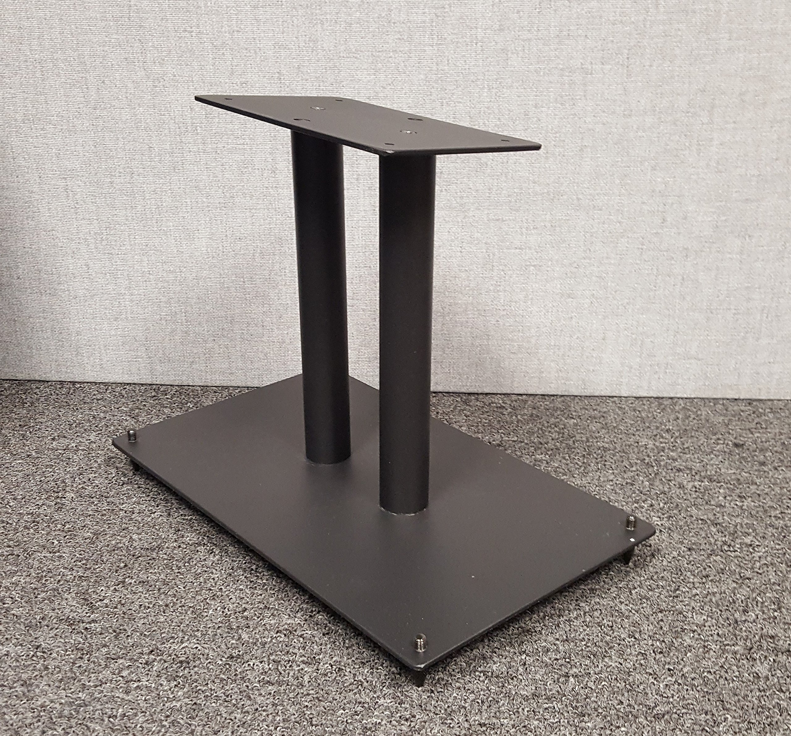 Center Channel Speaker Stand All Steel Fill-Able