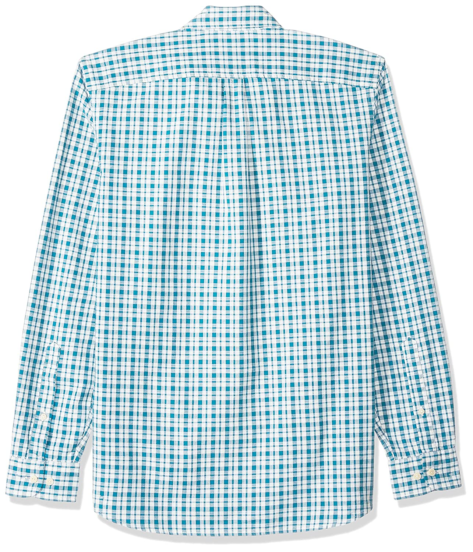 Goodthreads Mens Standard-Fit Long-Sleeve Pattern Chambray Shirt Brand